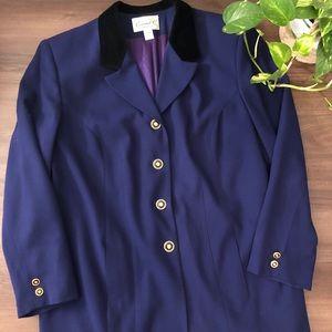 ✨HOST PICK✨ Vintage Purple Blazer Jacket